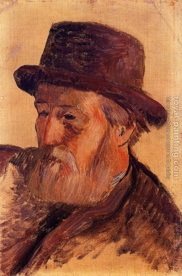 Paul Gauguin : Portrait of Isidore Gauguin