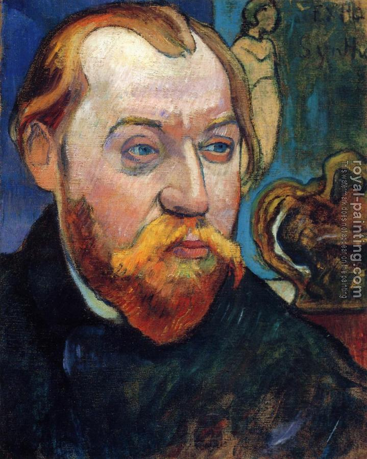 Paul Gauguin : Portrait of Louis Roy