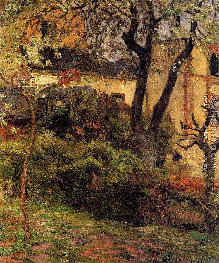 Paul Gauguin : Rouen, Spring