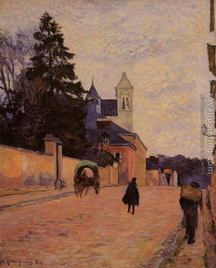Paul Gauguin : Street in Rouen