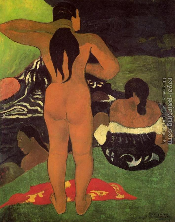 Paul Gauguin : Tahitian Women Bathing