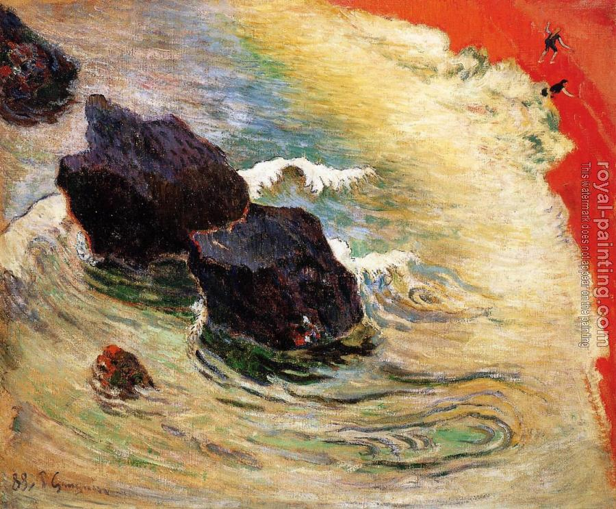 Paul Gauguin : The Wave