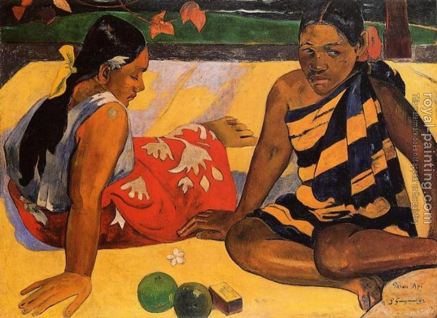 Paul Gauguin : What News