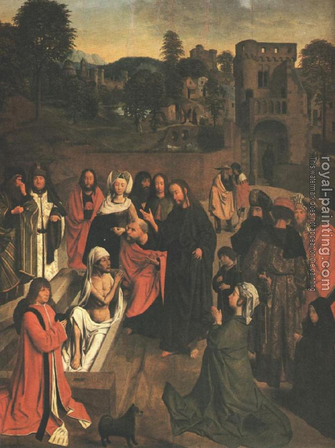 Geertgen Tot Sint Jans : The Raising of Lazarus