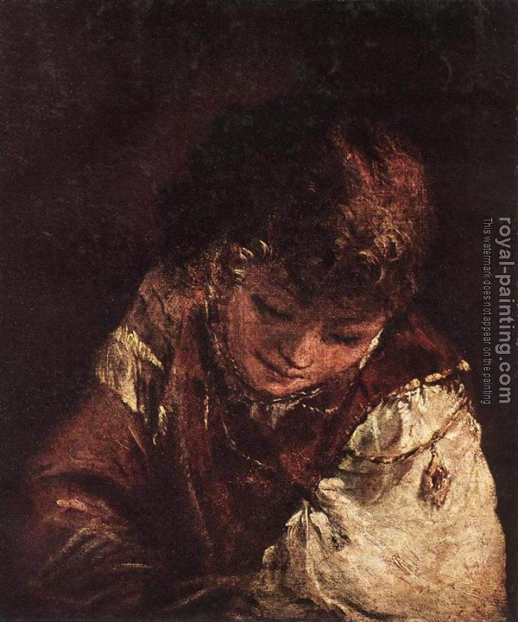 Aert De Gelder : Portrait of a Boy