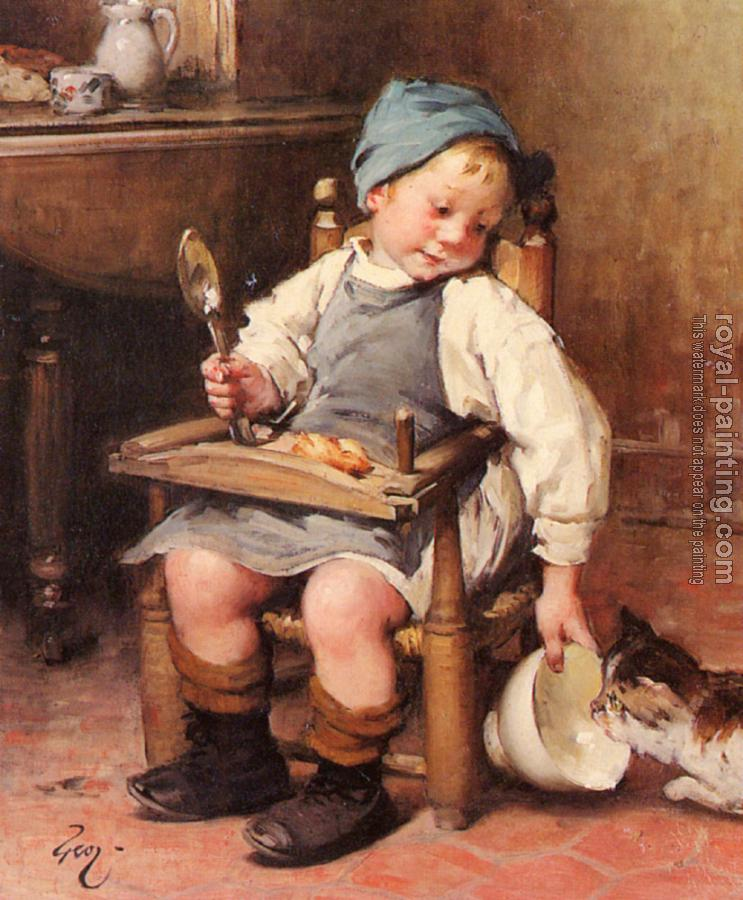 Henry Jules Jean Geoffroy : Sharing a Meal