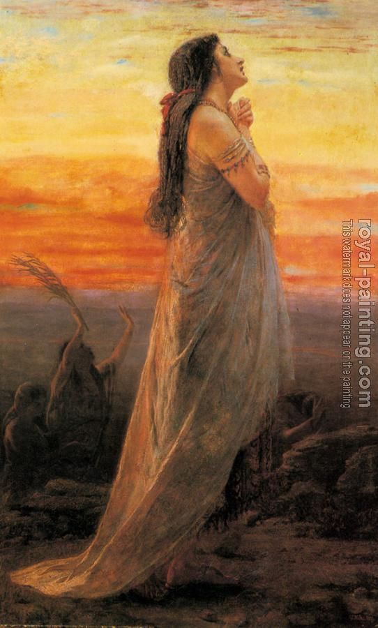 George Elgar Hicks : The Lament Of Jephthahs Daughter