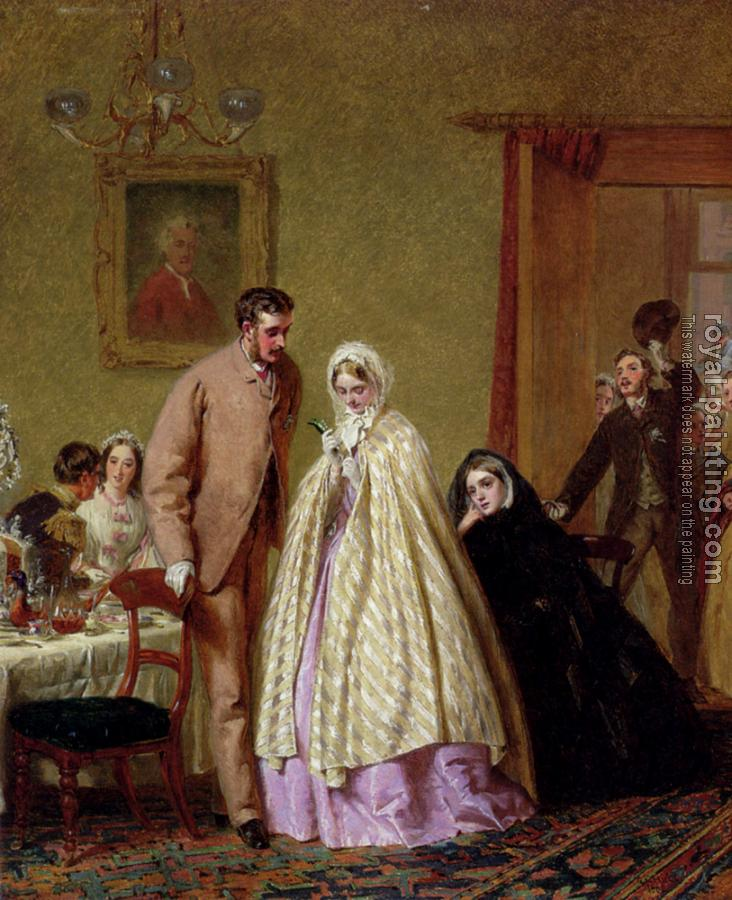 George Elgar Hicks : The Wedding Breakfast