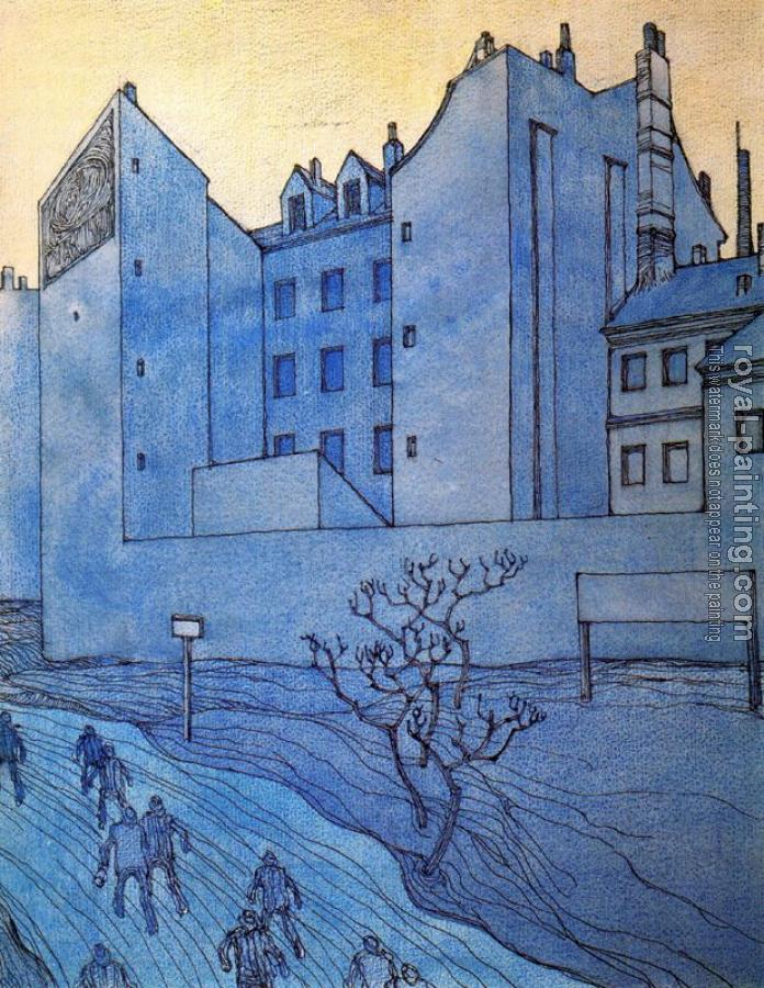 George Grosz : Blauer Morgen