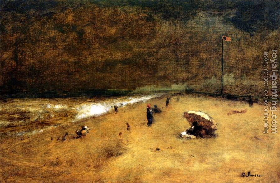 George Inness : Along the Jersey Shore