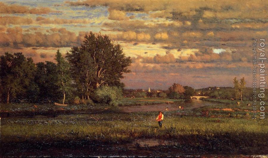 George Inness : Clearing Up