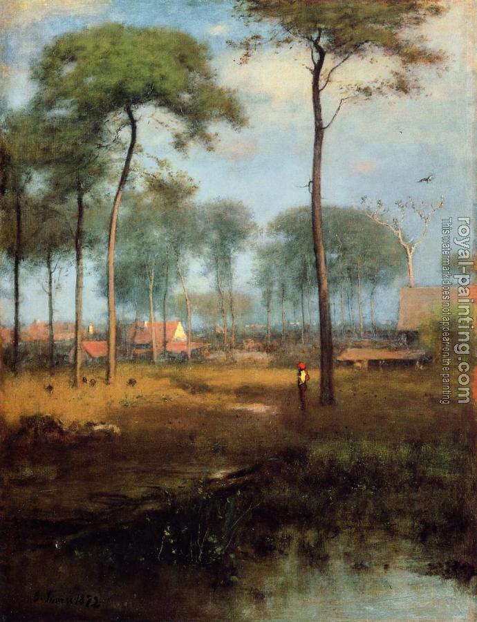 George Inness : Early Morning Tarpon Springs