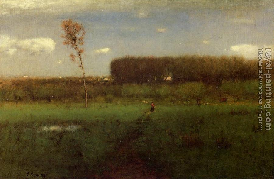 George Inness : October Noon