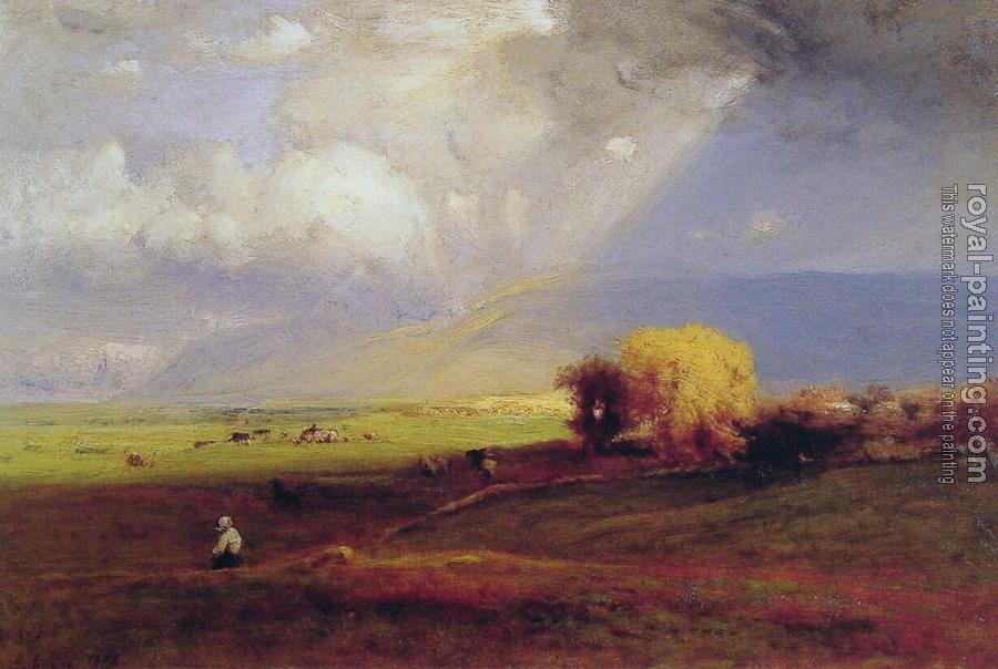 George Inness : Passing Clouds Passing Shower