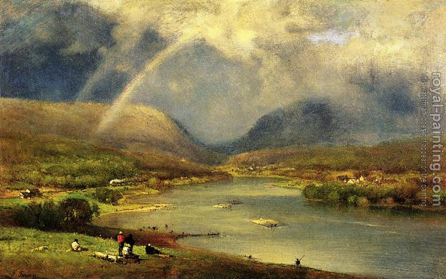 George Inness : The Deleware Water Gap