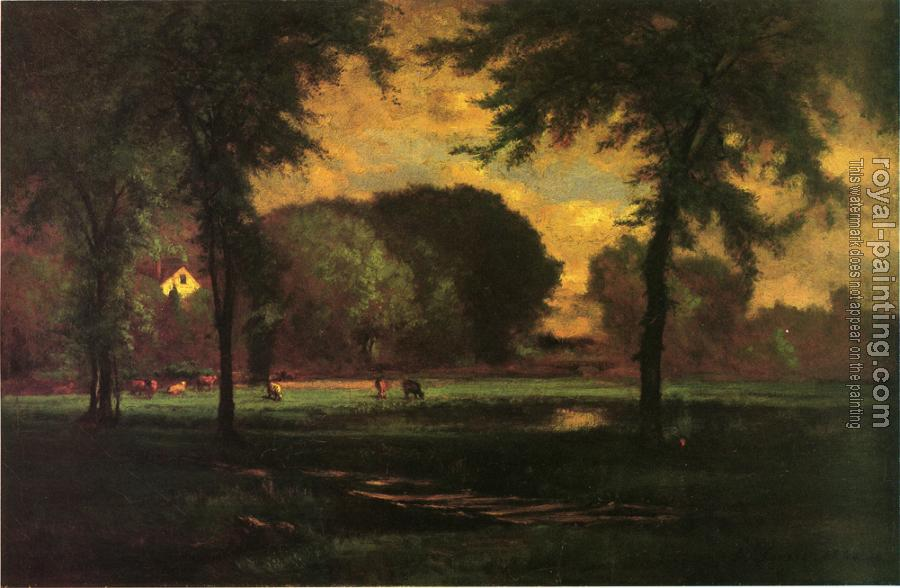 George Inness : The Pasture