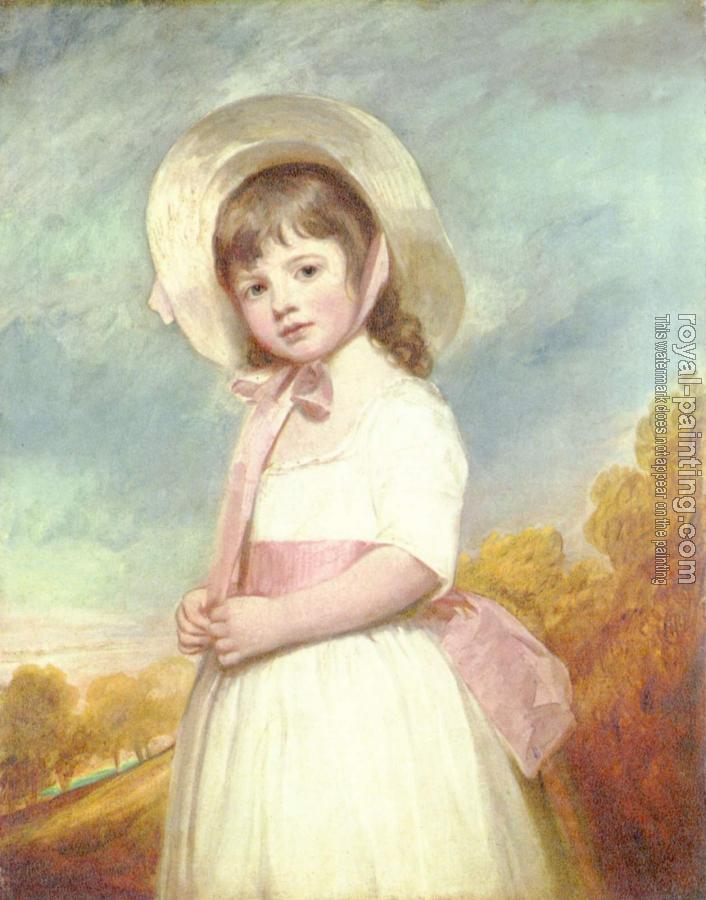 George Romney : Portrait of Miss Willoughby
