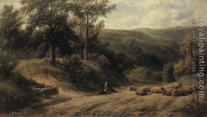 George Turner : A Scene between Grindelford Bridge and Hathersage