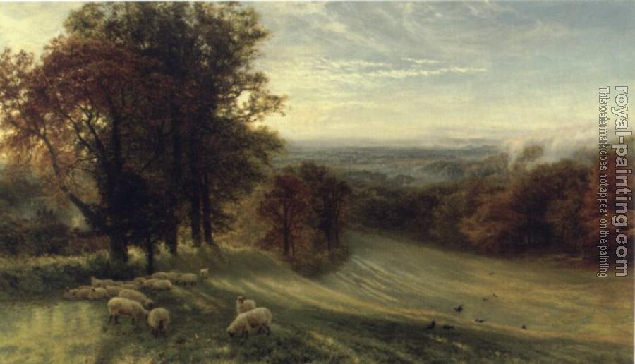 George Vicat Cole : Autumn Morning