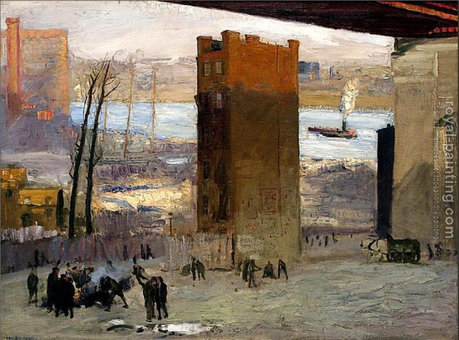 George Wesley Bellows : The Lone Tenement