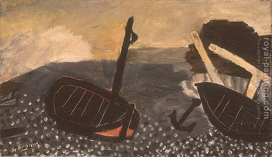 Georges Braque : Fishing Boats II