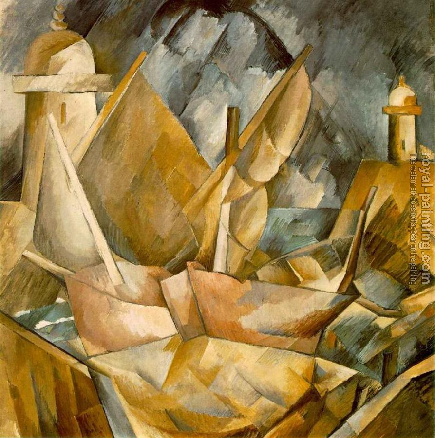 Georges Braque : Harbor in Normandy