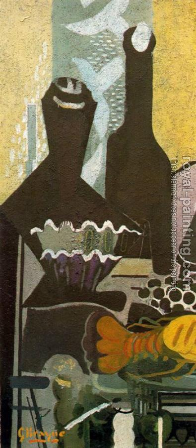 Georges Braque : Still life with lobster