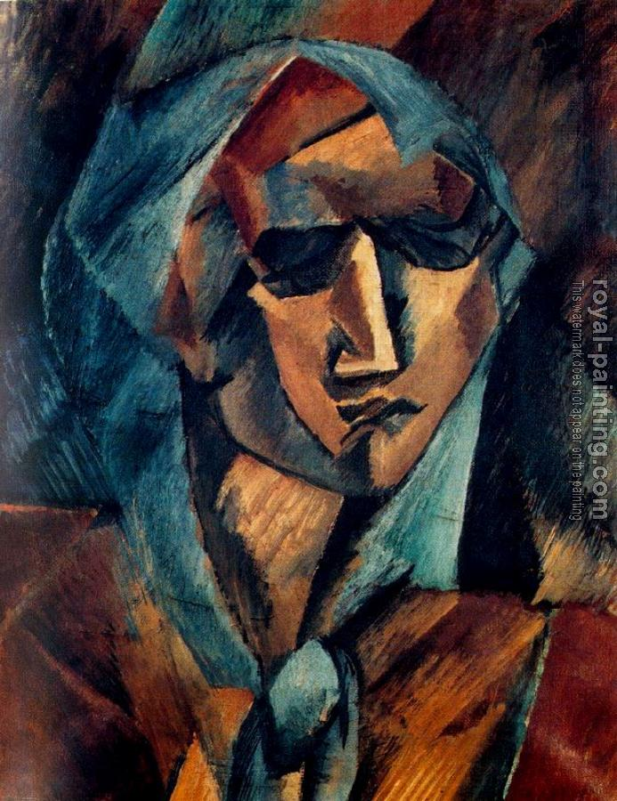Georges Braque : Head of a Woman