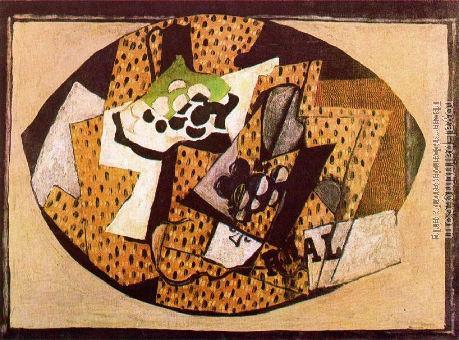 Georges Braque : Still Life with Grapes