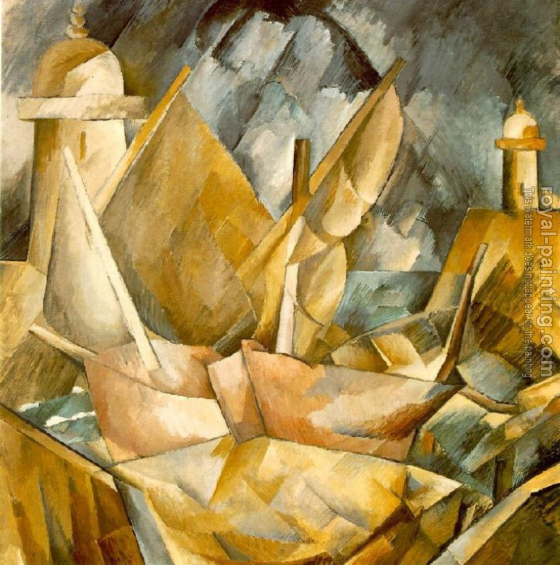 Georges Braque : Harbor in Normandy II