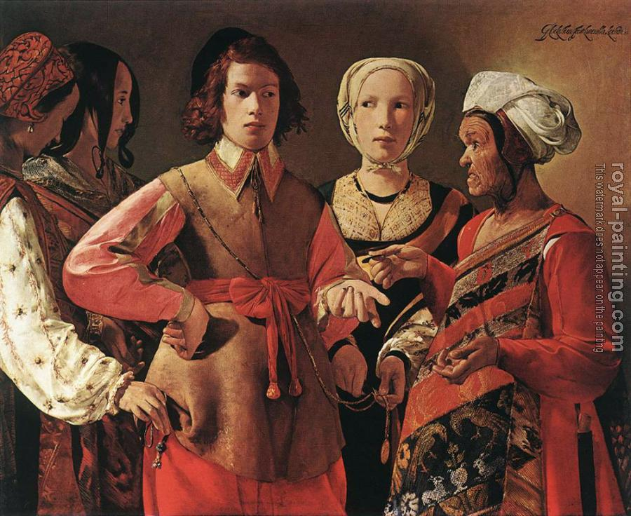 Georges De La Tour : Fortune Teller