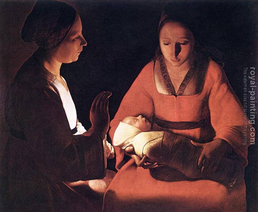 Georges De La Tour : The New born