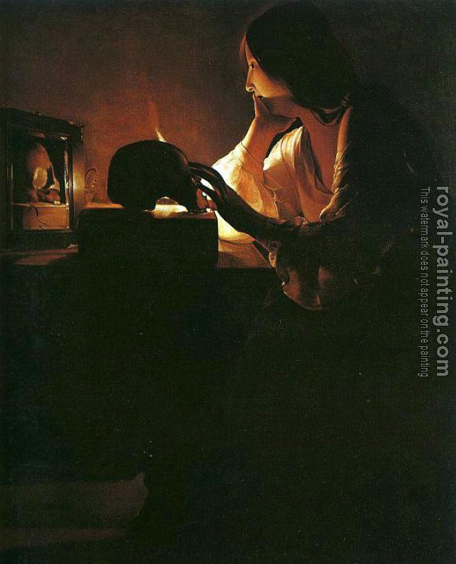 Georges De La Tour : The Repentant Magdalen