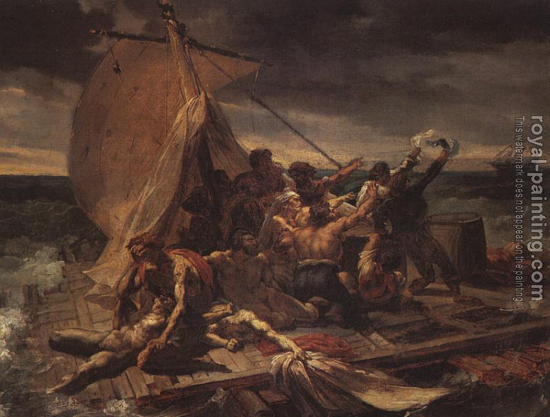 Theodore Gericault : Study for The Raft of the Medusa