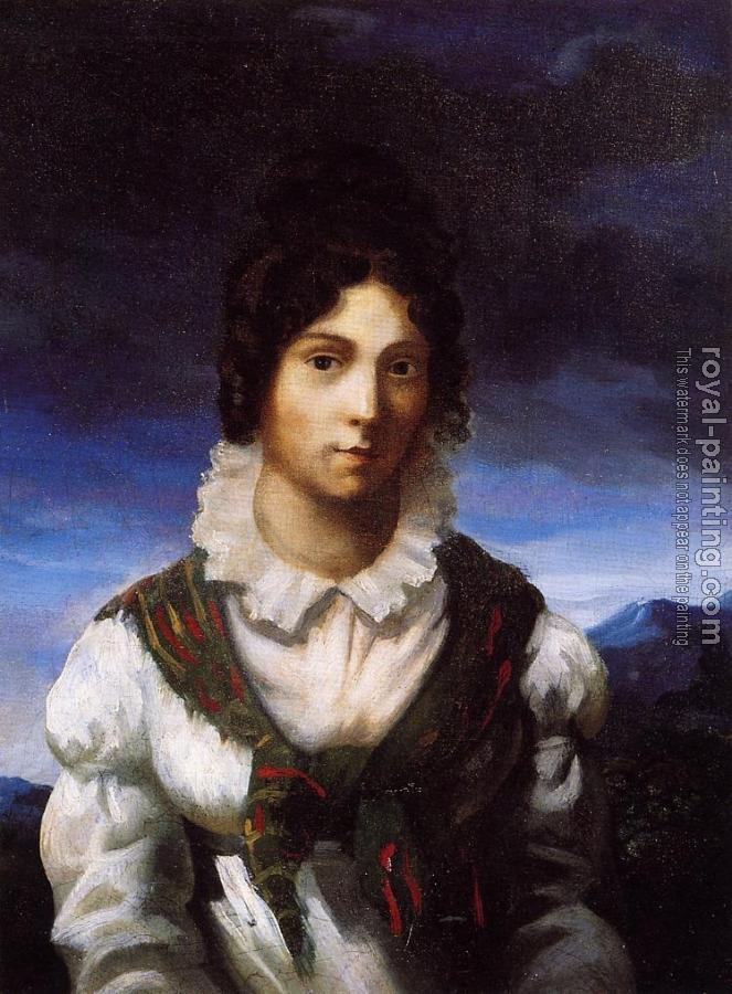Theodore Gericault : Portrait of a Young Woman