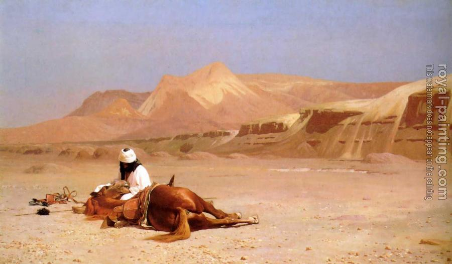 Jean-Leon Gerome : The Arab and his Steed