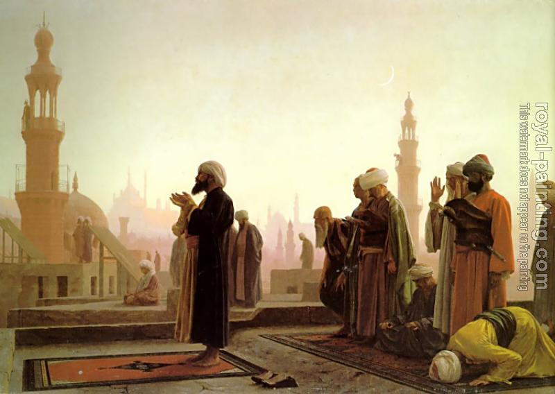 Jean-Leon Gerome : Prayer in Cairo
