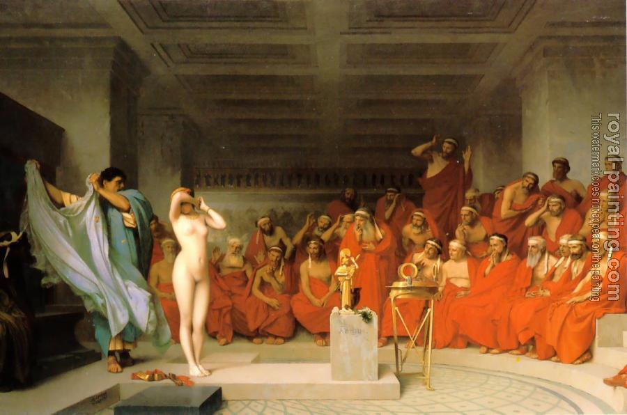 Jean-Leon Gerome : Phyrne before the Areopagus