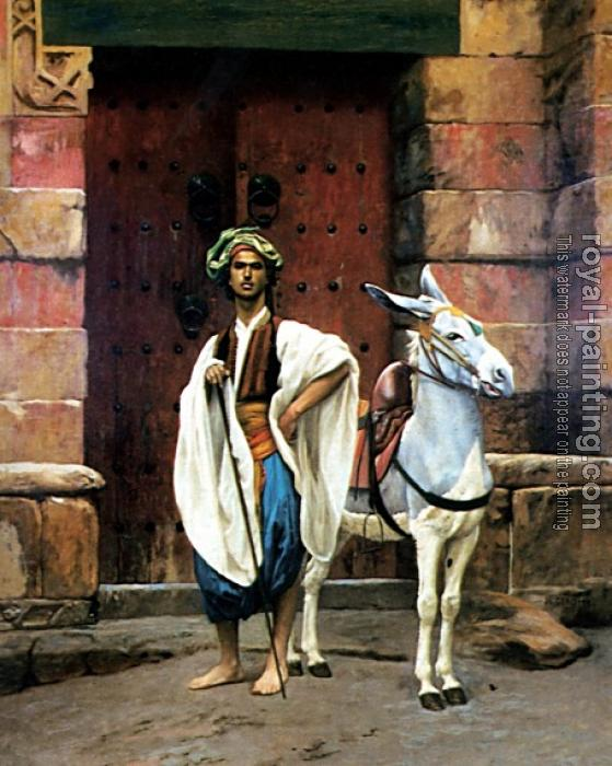 Jean-Leon Gerome : Sais and His Donkey