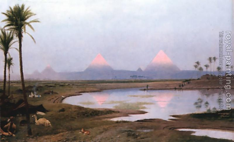 Jean-Leon Gerome : Arab Encampment