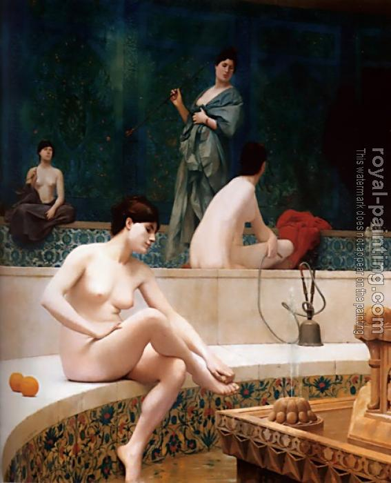 Jean-Leon Gerome : The Harem Bath
