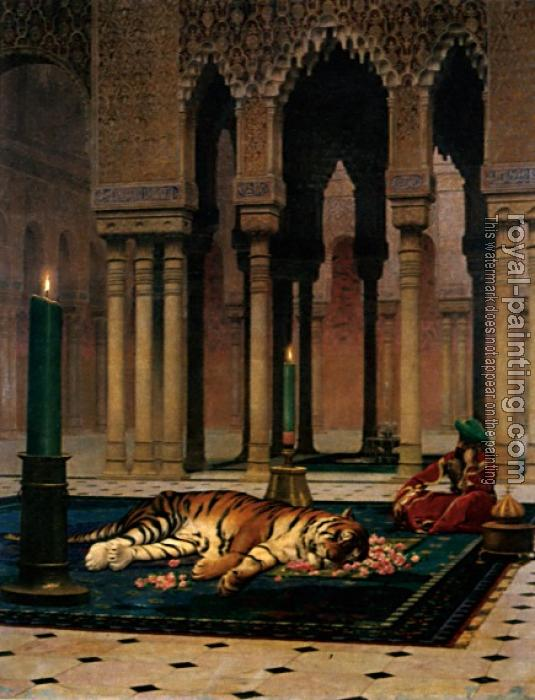 Jean-Leon Gerome : The Grief of the Pasha