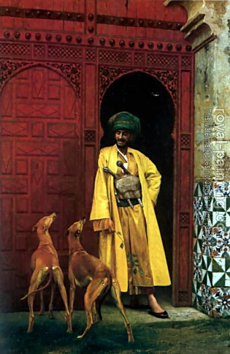 Jean-Leon Gerome : An Arab and His Dog