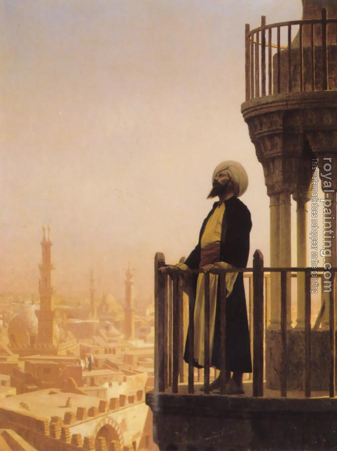 Jean-Leon Gerome : The Call to Prayer