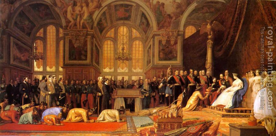 Jean-Leon Gerome : The Reception Of The Siamese Ambassadors At Fontainebleau