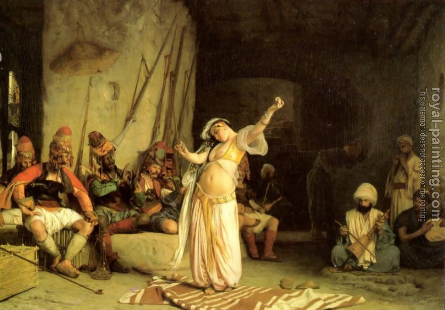 Jean-Leon Gerome : The Dance of the Almeh
