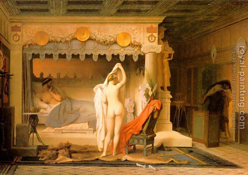 Jean-Leon Gerome : King Candaules of Lydia