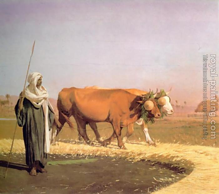 Jean-Leon Gerome : Treading out the Grain in Egypt