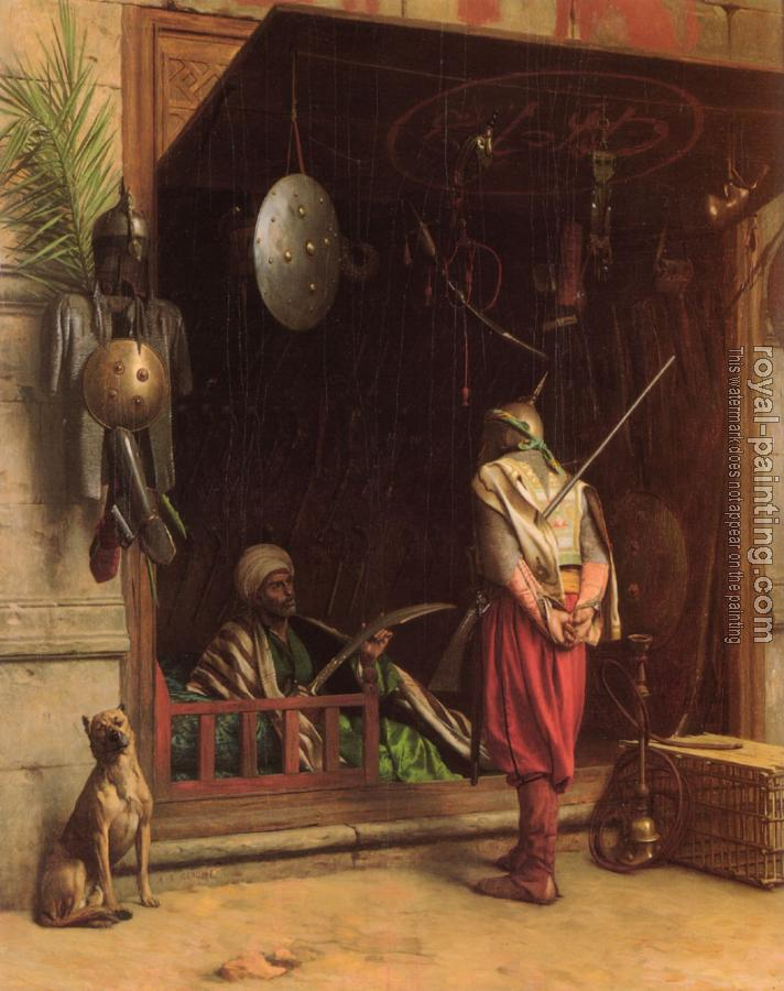 Jean-Leon Gerome : Arms Dealer in Cairo