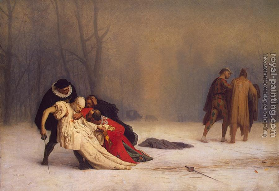 Jean-Leon Gerome : The Duel after the Masquerade